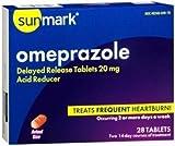 Sunmark Omeprazole Tablet 20Mg Generic Prilosec Otc - 1 Bottle (28/BOTTLE)