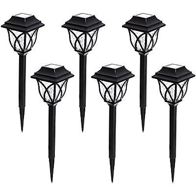 Portfolio 6-Light Black 0.5-Watt LED Path Light Kit