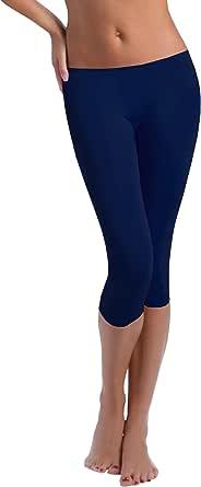 FUNGO Leggings Mujer 3/4 Pantalones de Yoga Deportivas Leggins Para Mujer F34