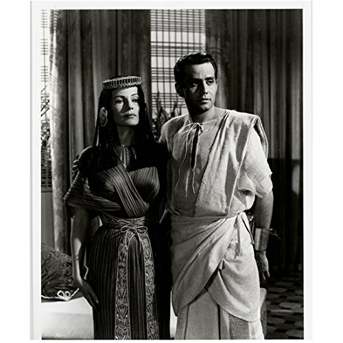 (Rita Hayworth Salome Egyptian Costume with Man Black & White 8 x 10 Photo)