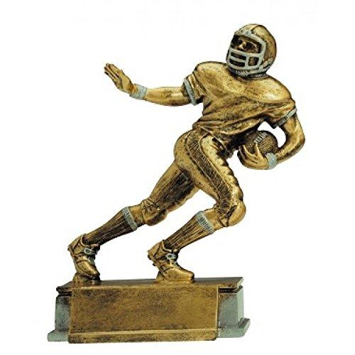 Decade Awards  Football Runner Trophy  Gridiron Running Back Award | 9.5 Inch Tall - Customize Now