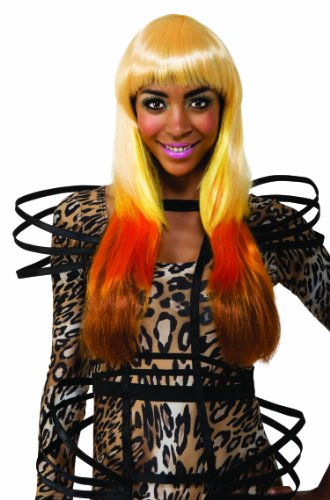 Nicki Minaj Halloween (Nicki Minaj Leopard Look Wig, Multi, One Size)