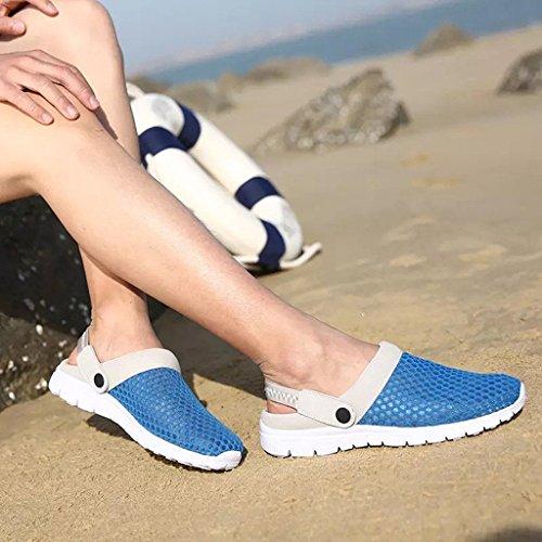 Blu Beach Unisex Pantofole Sandali Uomo Mare Eagsouni Traspirante Scarpe Spiaggia da Zoccoli Donna Ciabatte BFanwqpT