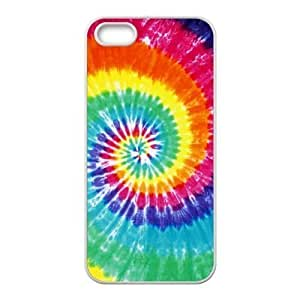 Toppest Tie Dye TPU Back Case Cover for Iphone 5 5s
