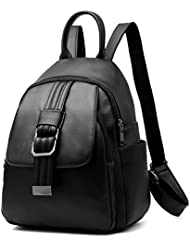 BOBILIKE Fashion Leather Backpack Purse Mini Daypacks for Girls