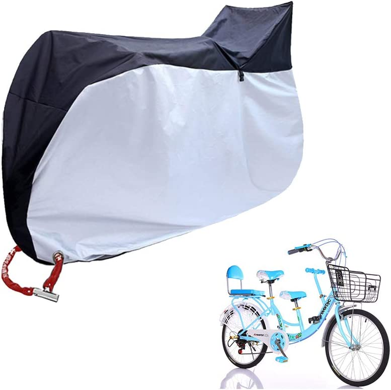 SUNDUXY Cubre Bicicleta Bicicleta Impermeable, Resistente al Agua ...