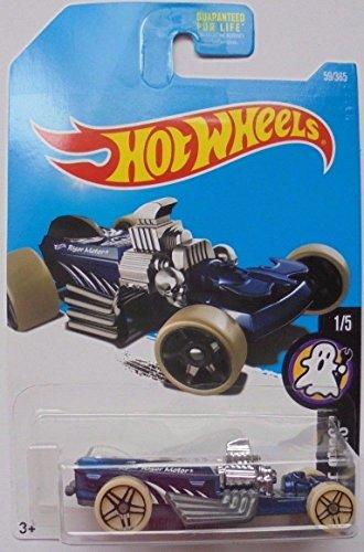 2017 Hot Wheels FRIGHT CARS 1/5 Rigor Motor 59/365 BLUE RARE