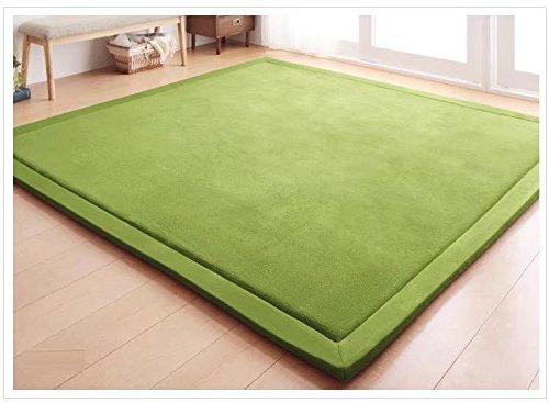 V-mix Tapete de juegos para niños, alfombras para gatear y jugar, de espuma afelpada de tejido hecho a mano, para bebés,...