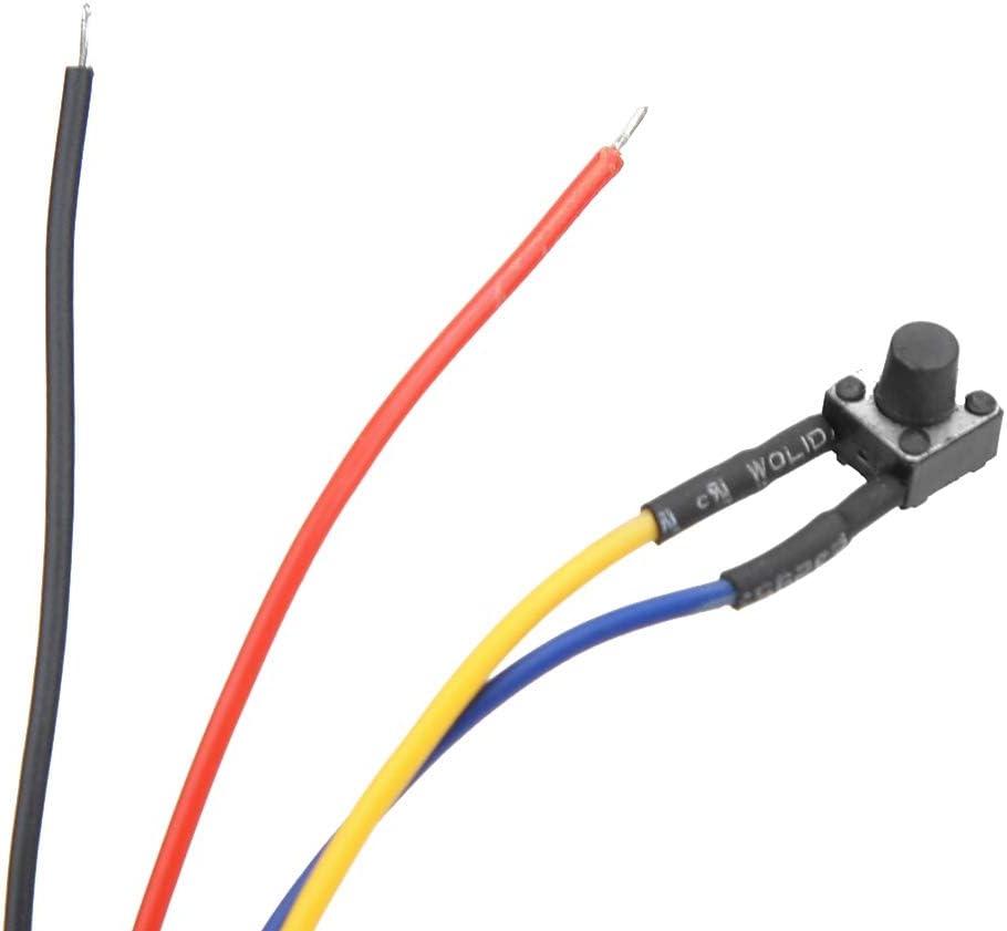 Akozon DC4.5-30V Wasserdicht staubdicht Auto Elektronische Uhr LED Digital Display default gr/ün