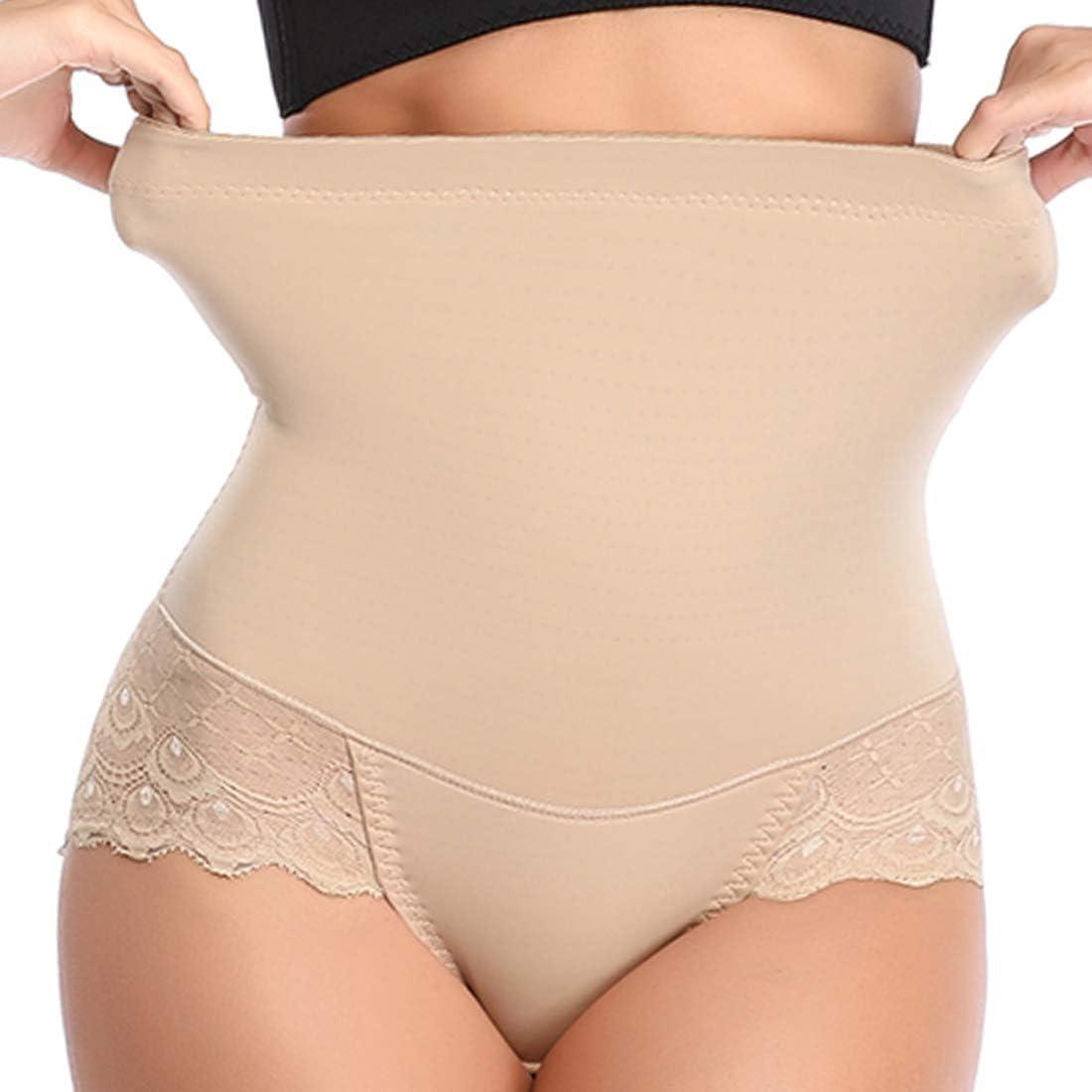 Womens High Waist Briefs Shapewear Cotton Pants Tummy Shaper Seamless Underwear