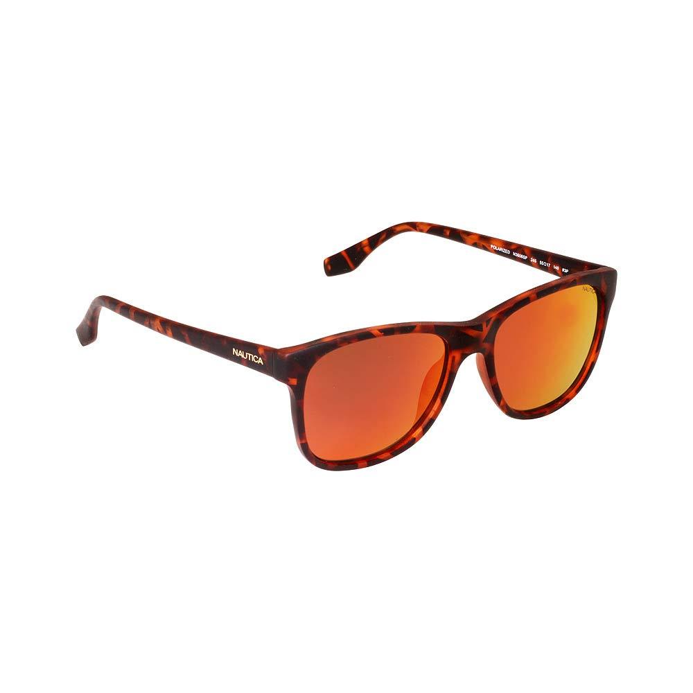 Nautica N3608Sp 245 55, Gafas de Sol para Hombre, Rubberized Dark Tortoise: Amazon.es: Ropa y accesorios