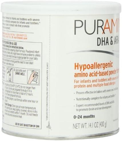 Fórmula basada PurAmino hipoalergénico aminoácidos con hierro ...