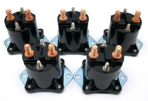 Club Car DS Electric Golf Cart 36 Volt Solenoid (1976-1998) | Set Of 5
