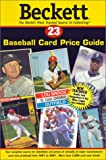 Beckett Baseball Card Price Guide, James Beckett, 1930692080