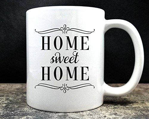 LIZNICE - Home Sweet Home Coffee Mug (D5), MUG - Tiffany Blue Me Color Show The