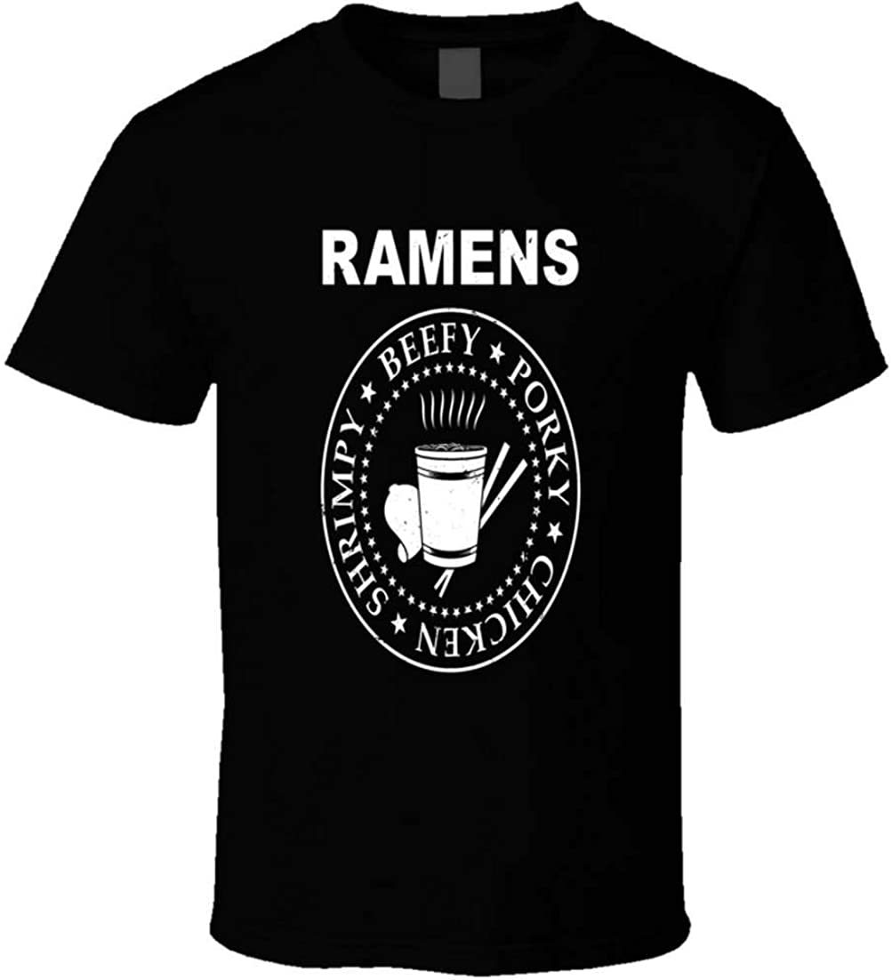 Bailey Geddes Ramen Noodles Student Food Asian 1 Cup Meals Funny Logo t-Shirt