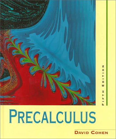 Cengage Advantage Books: Precalculus: A Problems-Oriented Approach