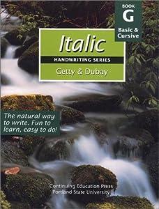 Italic Handwriting Series Book G