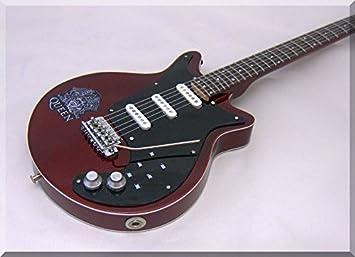 BRIAN MAY Miniatura Guitarra QUEEN Burn2: Amazon.es: Instrumentos ...