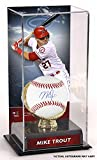 Mike Trout Los Angeles Angels Autographed Baseball and Gold Glove Display Case with Image - Fanatics Authentic Certified