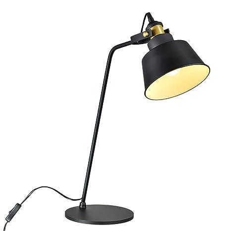 Lámpara De Mesa De Estilo Americano, Mesa De Noche, Lámpara De ...