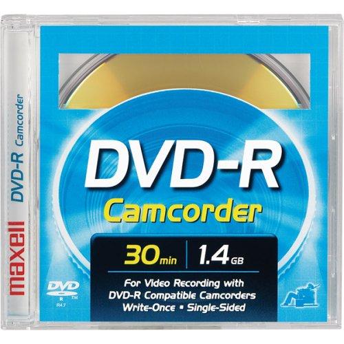 * 12 Maxell Mini DVD-R Camcorder Data Movie Disks 1.4GB 30 M