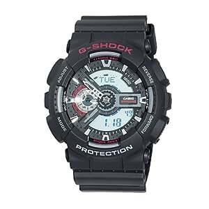 Casio Men's GA110-1A XL Series By G-Shock Classic Analog-Digital Black Watch