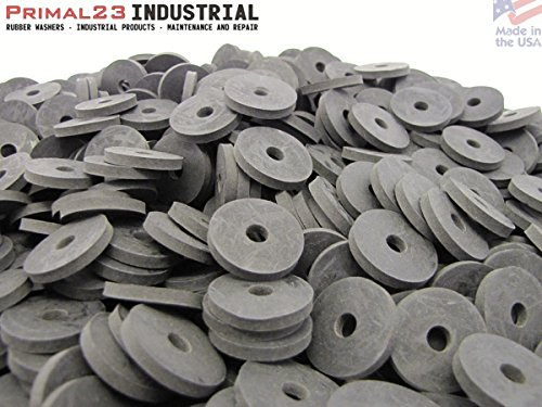 (100) Heavy Duty Abrasion Resistant Rubber Washers | 1