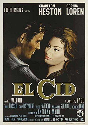 Amazon.com: El Cid cartel de película (27 x 40 inches – 69 ...
