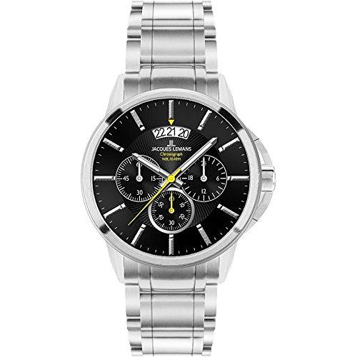 Jacques Lemans Sydney Gents Metal Bracelet Watch 1-1542D