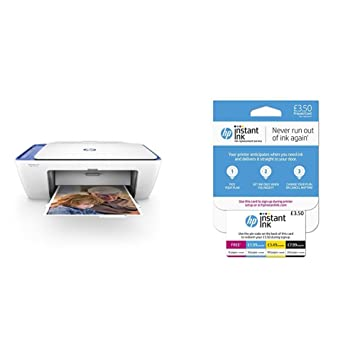 HP Deskjet 2630 All-in-One Printer with Free Instant Ink