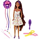 Fashion Doll with Hair Accessories, Style...
