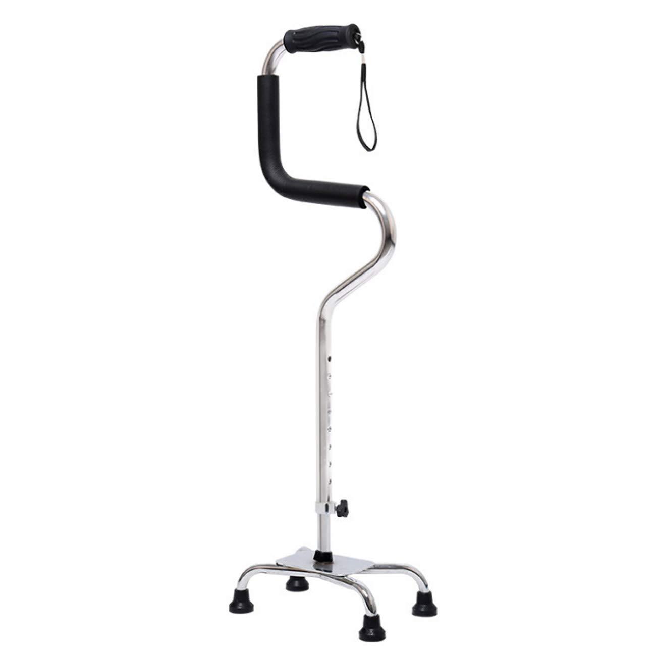Tochange Älterer gehender Steuerknüppel, höhenverstellbare Gehhilfe für die Linke Oder Rechte Hand, Arthritis-Senioren Behindert und älter