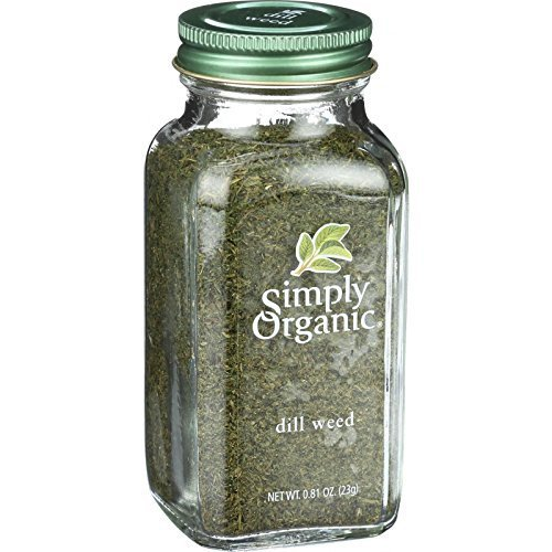 Simply Organic Dill Weed, 0.81 Ounce - 6 per case