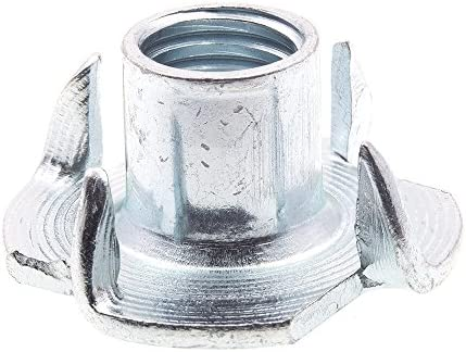 10-Pack M8-1.25 Zinc Plated Steel 4-Prong Metric Prime-Line 9078885 T-Nuts