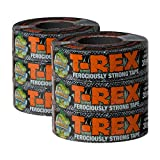 T-REX Ferociously Strong Duct Tape, 6 Rolls, Each 1.88 in. x 35 yd, Dark Gunmetal Gray (284976)