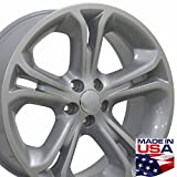 20x8.5 Wheel Fits Ford SUV - Explorer Style Silver Rim, Hollander 3860