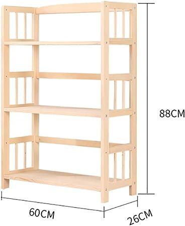 ZXY Niños Madera Librería estantería, Estante para Libros Multifuncional Repisa Escalera Organizador para niños, 5 estantes, Natural-C 60x26x88cm(24x10x35inch): Amazon.es: Hogar
