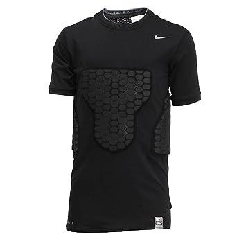 3f624a712 Nike Pro Combat Boys Vis-Deflex Compression Shirt (411518-010) (Black /  Cool Grey) (X-Large): Amazon.co.uk: Sports & Outdoors