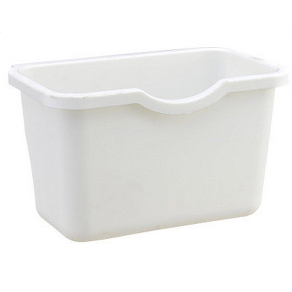 Mini cocina para puerta de armario para colgar la basura puede escritorio basura contenedor de almacenamiento/ /azul Amesii azul