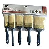 5 Piece Paint Brush Set - Plastic Handle, Case Pack of 48
