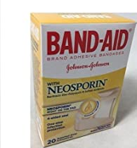 BAND-AID With Neosporin Bandages Assorted Sizes 20 Each (Pack of 2)
