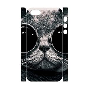 ALICASE Diy Customized Case Lovely Cat 3D Case for iPhone 5,5S [Pattern-1]
