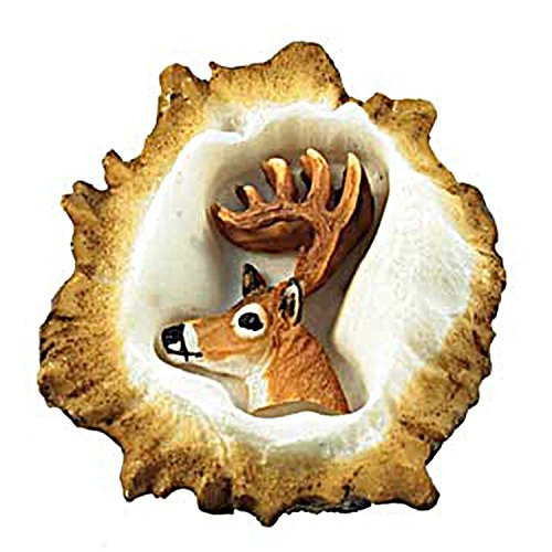 Sierra Lifestyles SL-681354 White Deer Burr Knob