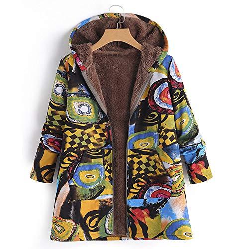 Bazhahei Con Invierno 1 Abrigo De Camisetas Amarillo Capucha wpRqax0RnO
