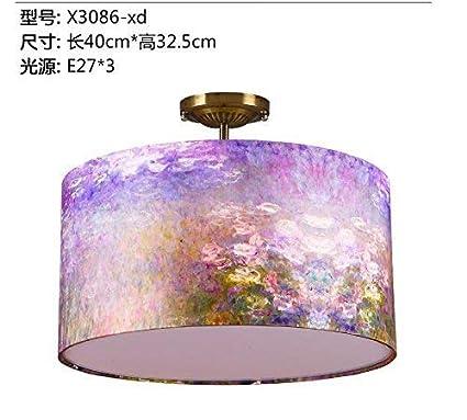 EU13 Lámpara de Mesa, Telas Minimalistas, luz de Techo, Cama ...