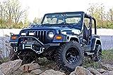 JOYTUTUS Hi Lift Jack Hood Mount Fits YJ TJ CJ Hood Brackets for Jeep Wrangler 1997-2006