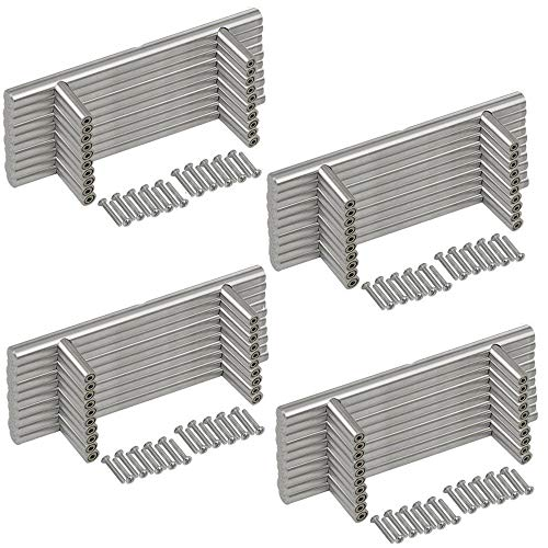 EEEKit 40-Pack Stainless Steel Kitchen Cabinet Handles T Bar Pull (6