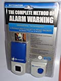 Activator RX-9 Infrasonic Home Security Alarm, Silver