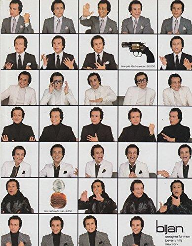 1982 Bijan: Designer for Men Beverly Hills, Bijan Print (Bijan Beverly Hills)